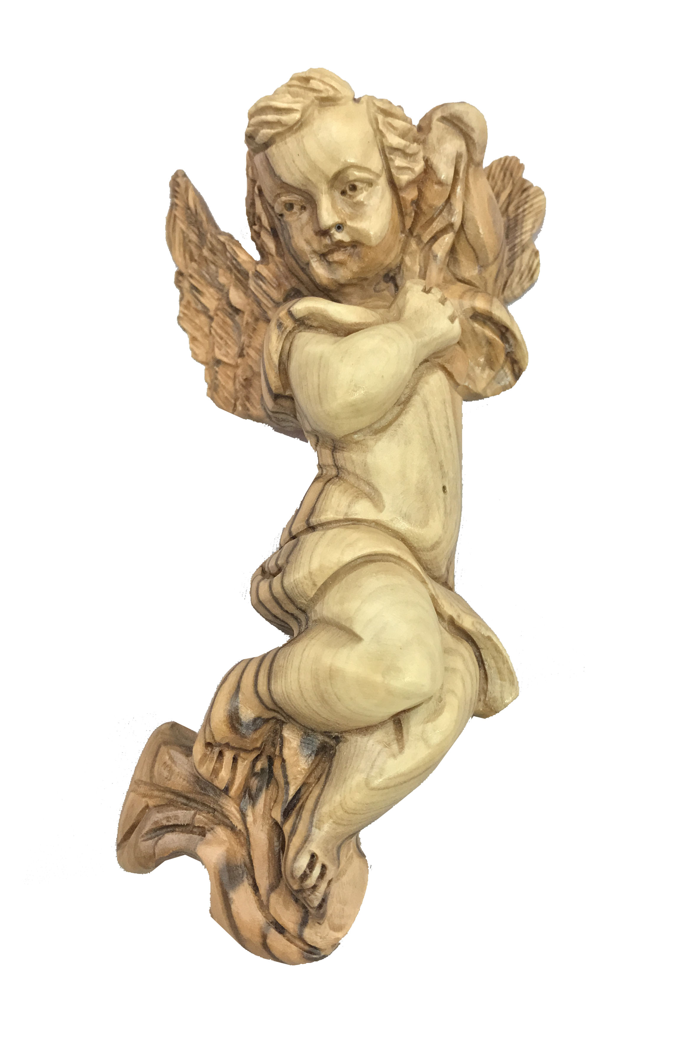 Olive Wood Wall Hanging Angel Sunu Three Arches 2