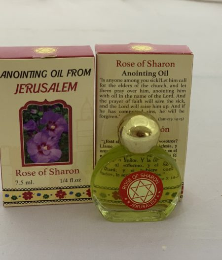 Anointing Oil from Jerusalem